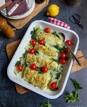 Cabillaud en croûte de Parmesan