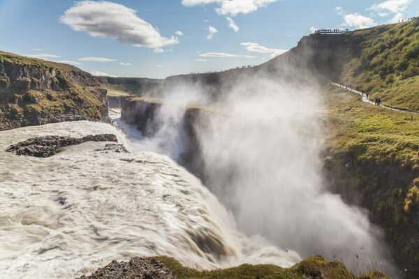 Gullfoss ©Diego Delso, CC BY-SA 4.0