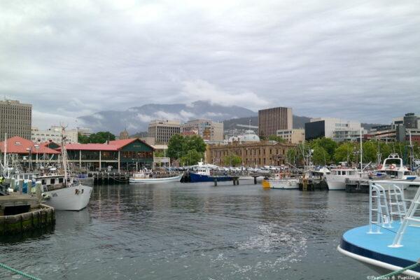 Le port de Hobart