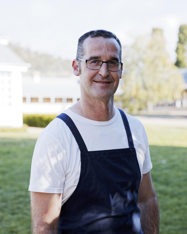 Rodney Dunn @The Agrarian Kitchen, Tasmanie