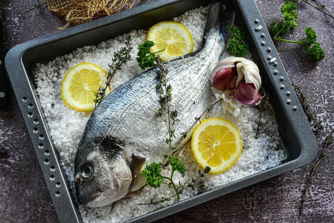 Poisson en croûte de sel ©RitaE de Pixabay