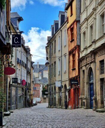Rue du Chapitre - Rennes