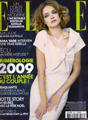 Couverture ELLE 20 décembre 2008