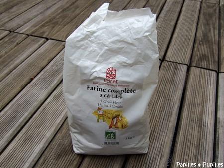 Farine comlète aux 5 céréales