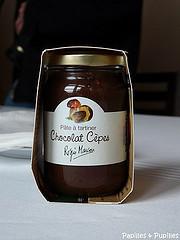 Pâte à tartiner chocolat cèpes - Régis Marcon et Confibio