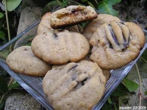 Sablés aux figues et à la farine de châtaignes