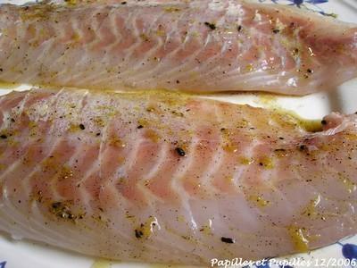 Recette de filets de bar loup sauce vanill e - Cuisiner le loup de mer ...