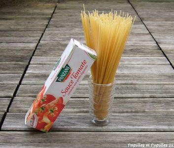 Recette inavouable : Les spaghettis sauce tomate