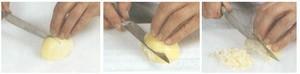 Découpe des oignons