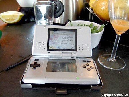 Leçons de cuisine Nintendo
