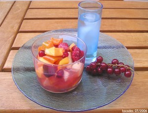 Salade de fruits qui fait dire hummmm version estivale