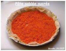 Papilles et Pupilles - Pâte sablée sucrée de Pierre Hermé