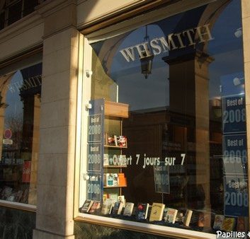 WHSmith, librairie anglaise, Paris