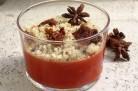 Crumble de tomates à l'anis étoilé et à l'agar agar de Clea