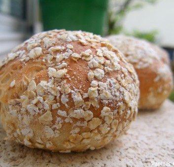 Petits pains aux flocons d'avoine et au sirop d'érable