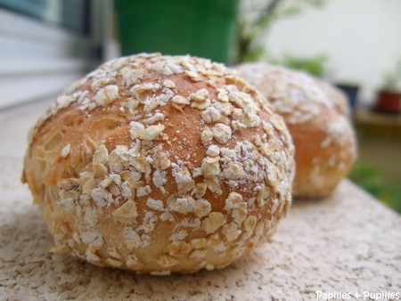 Petits pains au flocons d érable