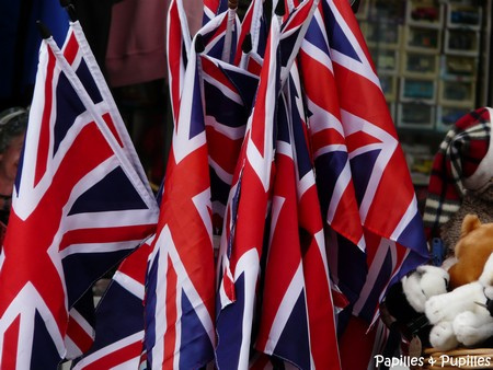 Drapeaux anglais