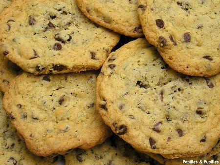 Cookies aux pépites de chocolat et aux flocons d