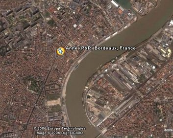 Bordeaux vue du ciel