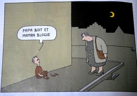 Image Papilles et Pupilles - Dessin humoristique le Point - 14 février 2008