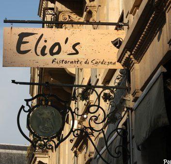 Elio's - Restaurant Sarde - Bordeaux