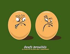Oeufs brouillés width=
