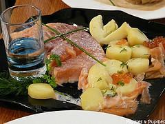 Assiette de saumon cuisine cup