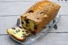 Cake au Comté, olives et fruits secs