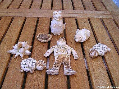 Image Papilles et Pupilles - Pâte à sel
