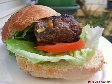 Image Papilles et Pupilles - Hamburger à l
