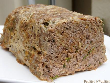 Pain de viande - Meat loaf