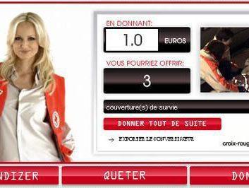 Des sous pour la Croix Rouge Française