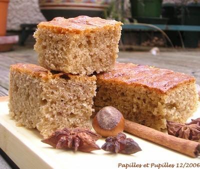 Cake Noisette Amande Banane Vegan