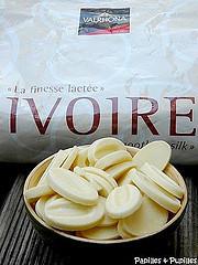 Chocolat de couverture Ivoire - Valrhona