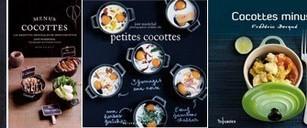 Livres de cuisine sur les mini cocottes