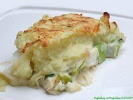 Irish fish pie ou hachis parmentier de poisson