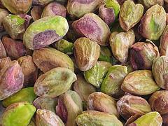 produits à la pistache