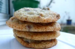 Cookies aux pépites de chocolat et aux noix de péca