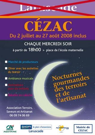 Nocturnes gourmandes des terroirs et de l'artisanat – Cézac