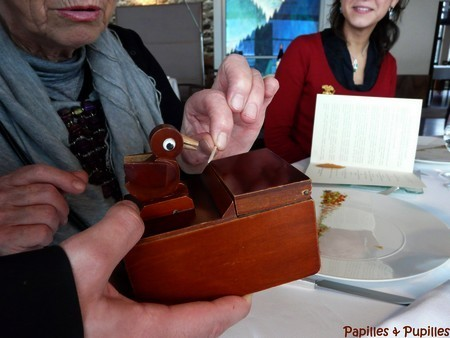 Distributeurs de piques en bois - Régis Marcon