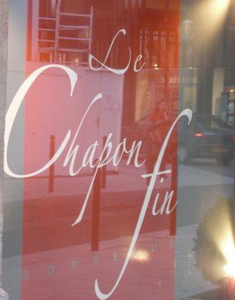 Dans les coulisses d'un grand restaurant : Le Chapon Fin – Bordeaux