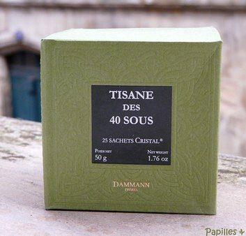 Tisane des 40 sous – Dammann
