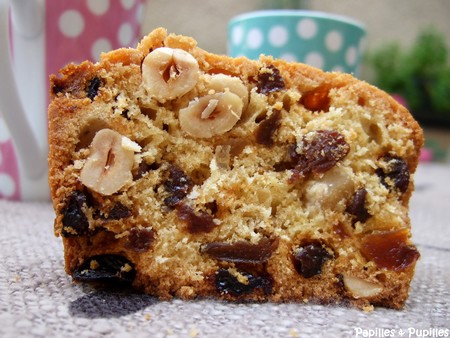 Cake au fruit confit