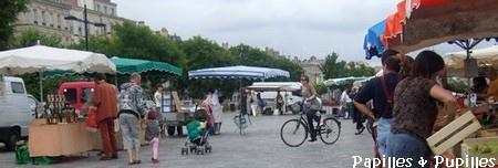 Marché Bio, quai des Chartrons