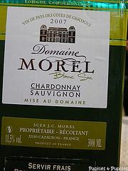 Vin blanc - Domaine Morel