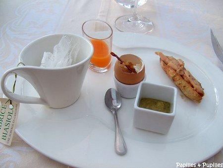 Petit déjeuner Gascon