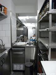 Le Chapon Fin - les cuisines