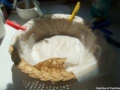 Préparation du banneton