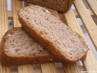 Pain aux céréales et à la farine de châtaignes