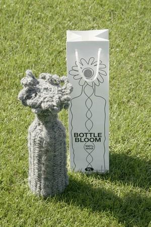 cache bouteille en laine